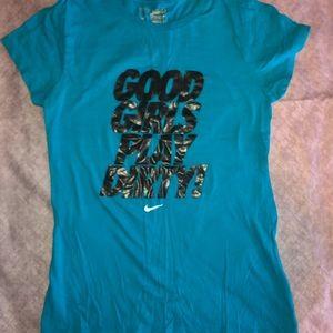 Nike 'Good Girls Play Dirty' T-shirt